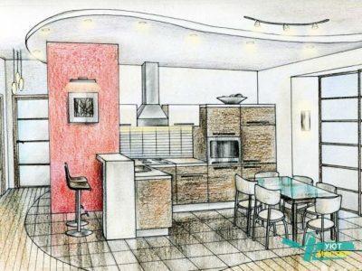 Дизайн интерьера квартиры, частного дома, коттеджа в Казани