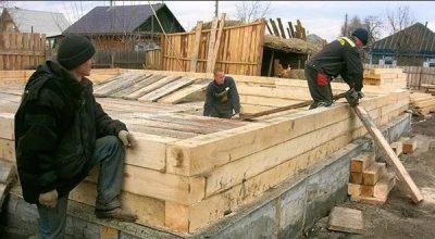 строительство домов из бруса в Казани под ключ