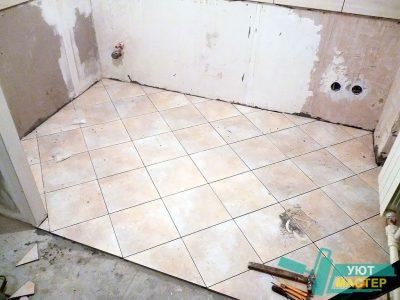 укладка плитки Казань укладка плитки в ванной