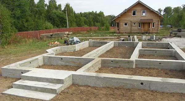 Ленточный фундамент под ключ в Казани цена, монтаж ленточного фундамента