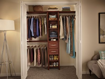 Маленькая гардеробная комната Казань