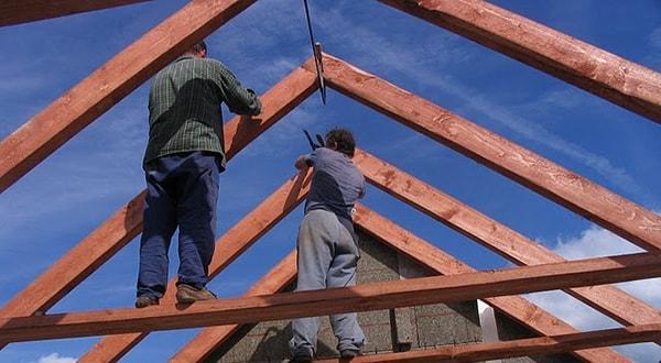 кровельные работы Казань двухскатная крыша отделка и монтаж под ключ