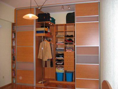 Встроенные гардеробные Казань от производителя