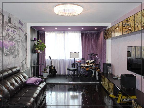 Ремонт квартиры 68 м2