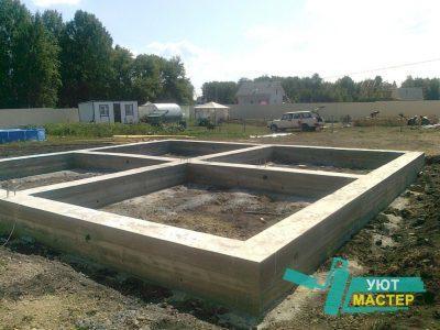 Ленточный фундамент Казани строительство ленточного фундамента