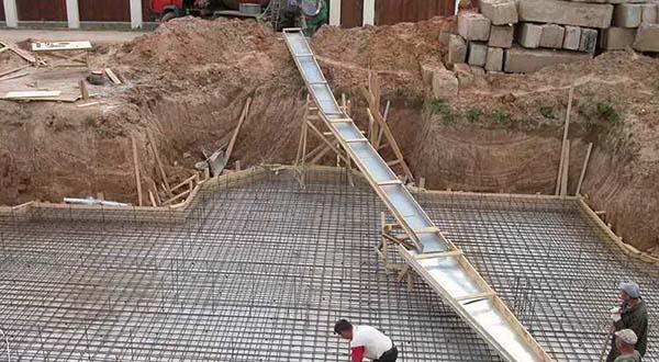 Монолитный фундамент под ключ в Казани цена, заказать ленточный фундамент