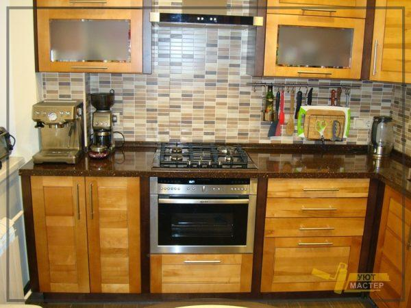Ремонт кухни 6 м2