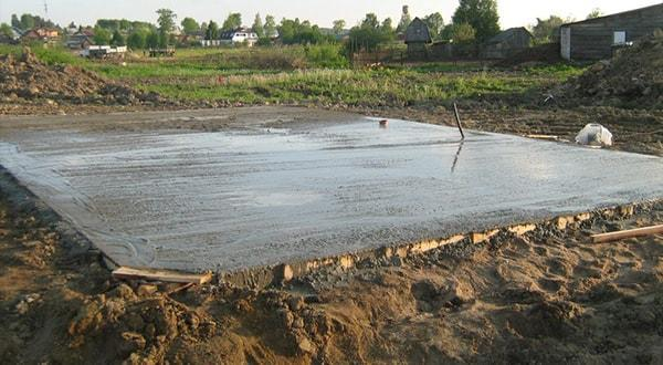 Плавающий фундамент под ключ в Казани цена, монтаж плавающего фундамента.