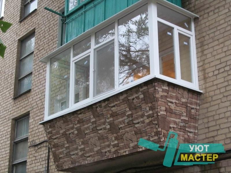 Балкон под ключ Казань