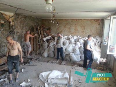 демонтаж стен Казань