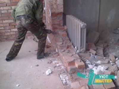 демонтаж стен в Казани