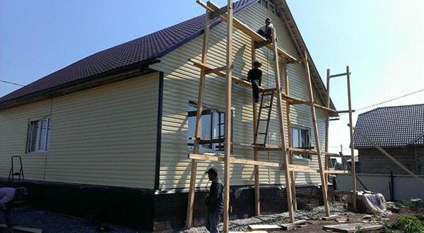 отделка фасада Казань фасадные работы под ключ