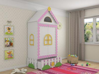 детская мебель в Казани шкафы Теремок