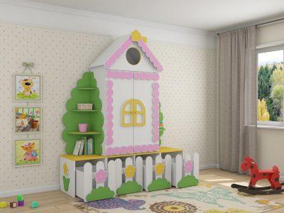 детская мебель в Казани  шкафы Избушка