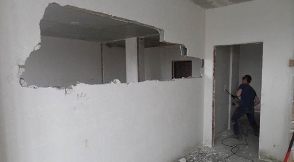 Снос бетонных стен в Казани, заказать демонтажные работы