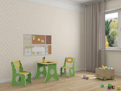 Детская мебель в Казани стульчик Ромашка